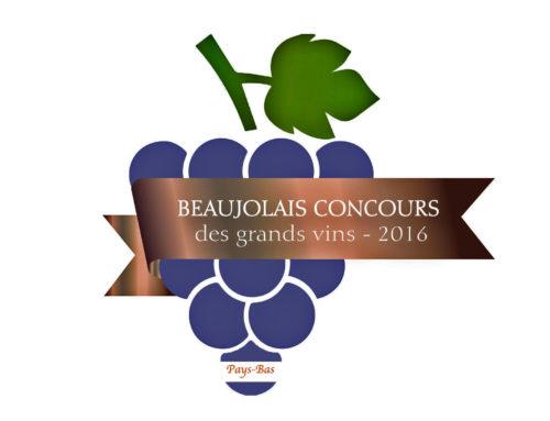 Beaujolais Concours des Grands Vins-Pays Bas- 2016